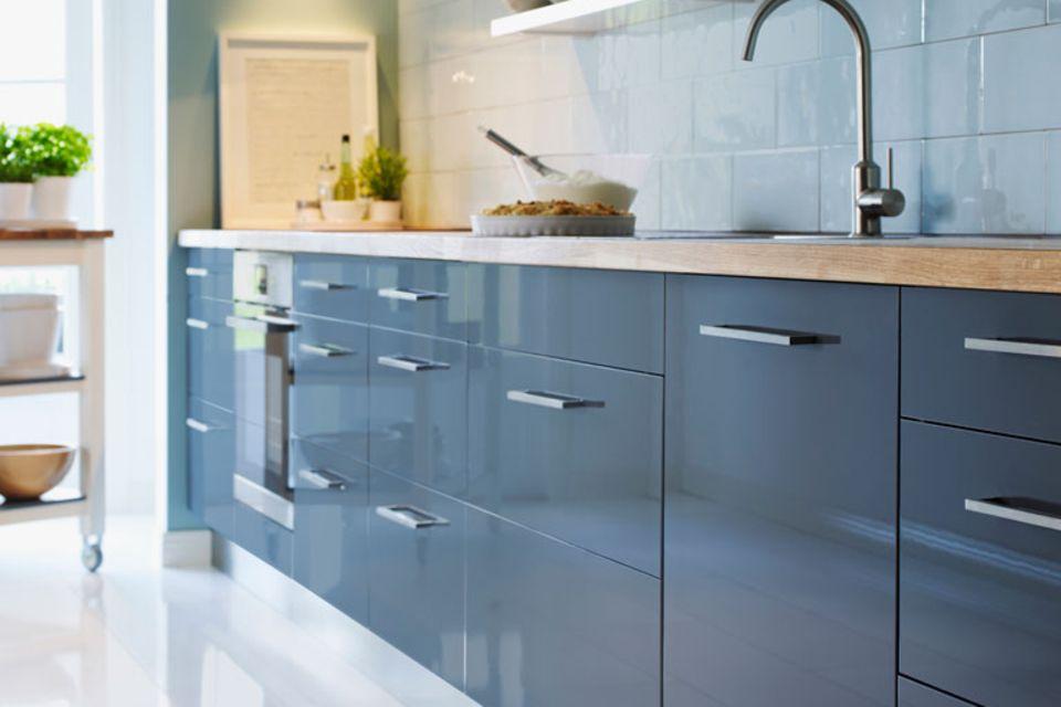 Tipp für die Küche: Alles nutzen, was Türen hat