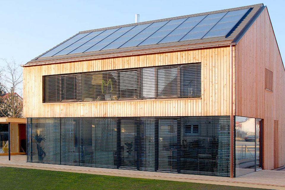 Solarthermie und Pelletheizung