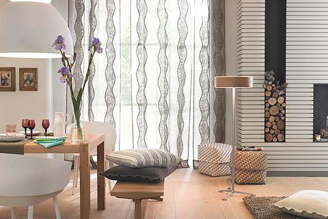 Dekorieren: Fensterdekoration fürs Esszimmer
