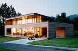 Holzhaus mit Lärchenfassade
