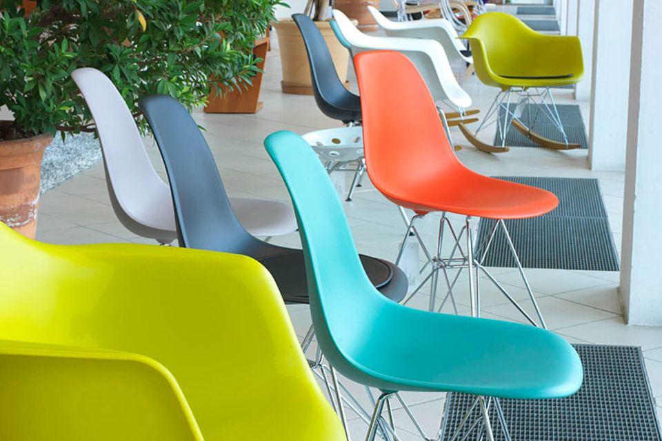 Retro: Lampen, Stühle und Sessel im Retro-Look