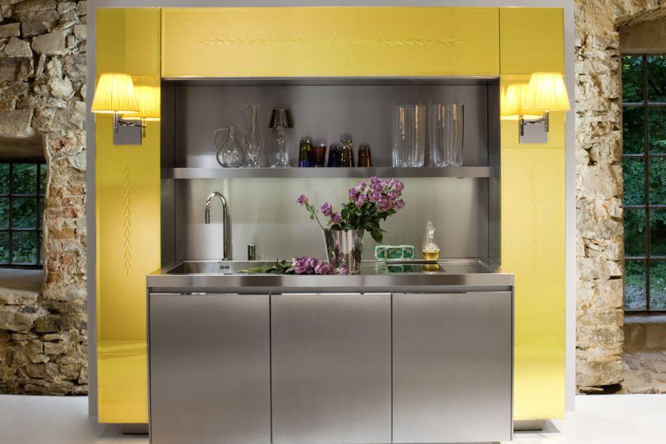 """Visionär: Küche """"Primary"""" von Philippe Starck für Warendorf"""