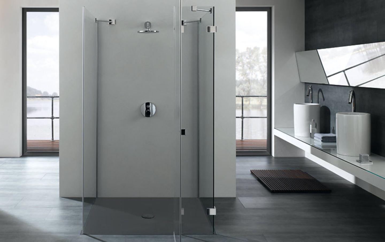 Duschtasse mit geringer Einbauhöhe