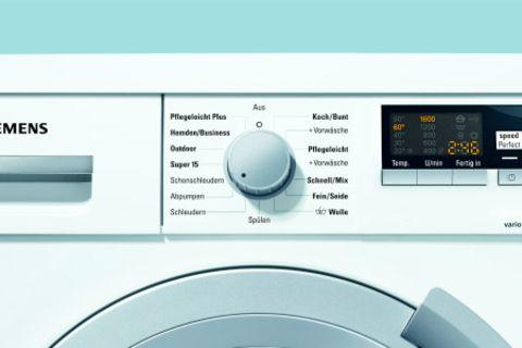 60% Zeit oder 30% Energie sparen mit varioPerfect von Siemens