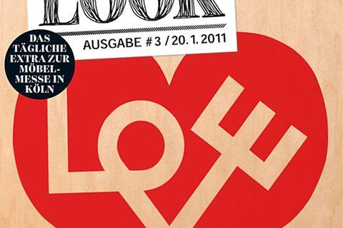 Messezeitung SCHÖNER WOHNEN LOOK