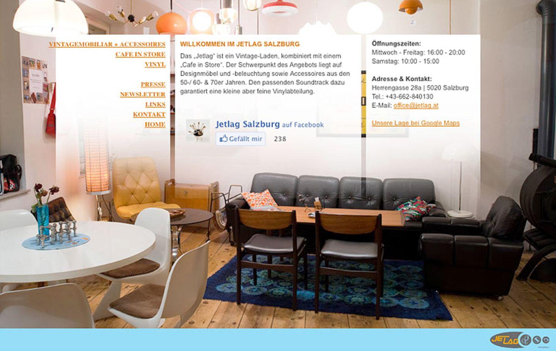 """Jetlag"": Vintage-Möbel zu Kaffee und Musik"