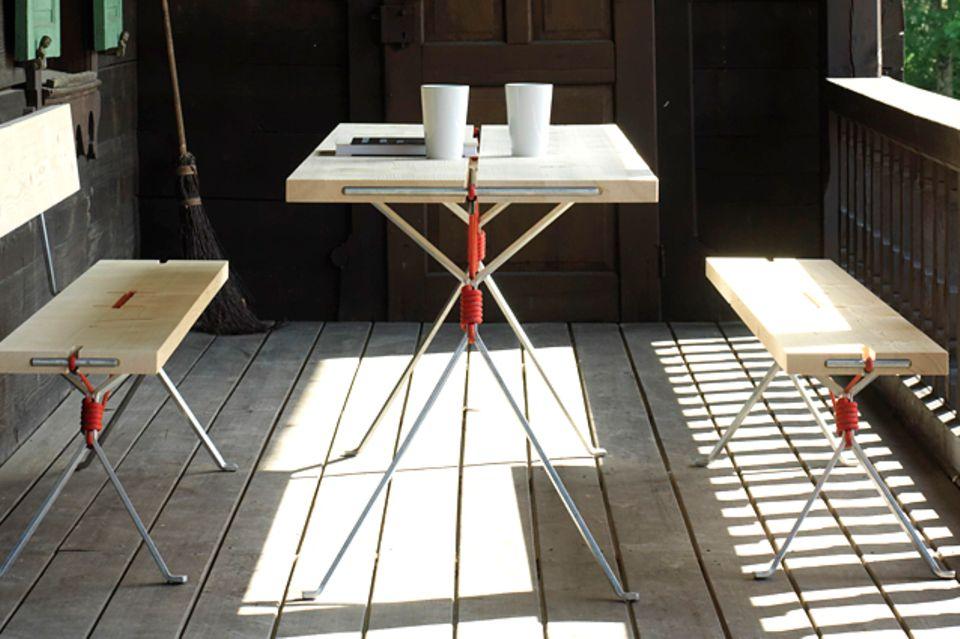 """Tisch und Bänke """"Kampenwand"""""""