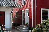 Wie man sein Haus in Schwedenrot streicht