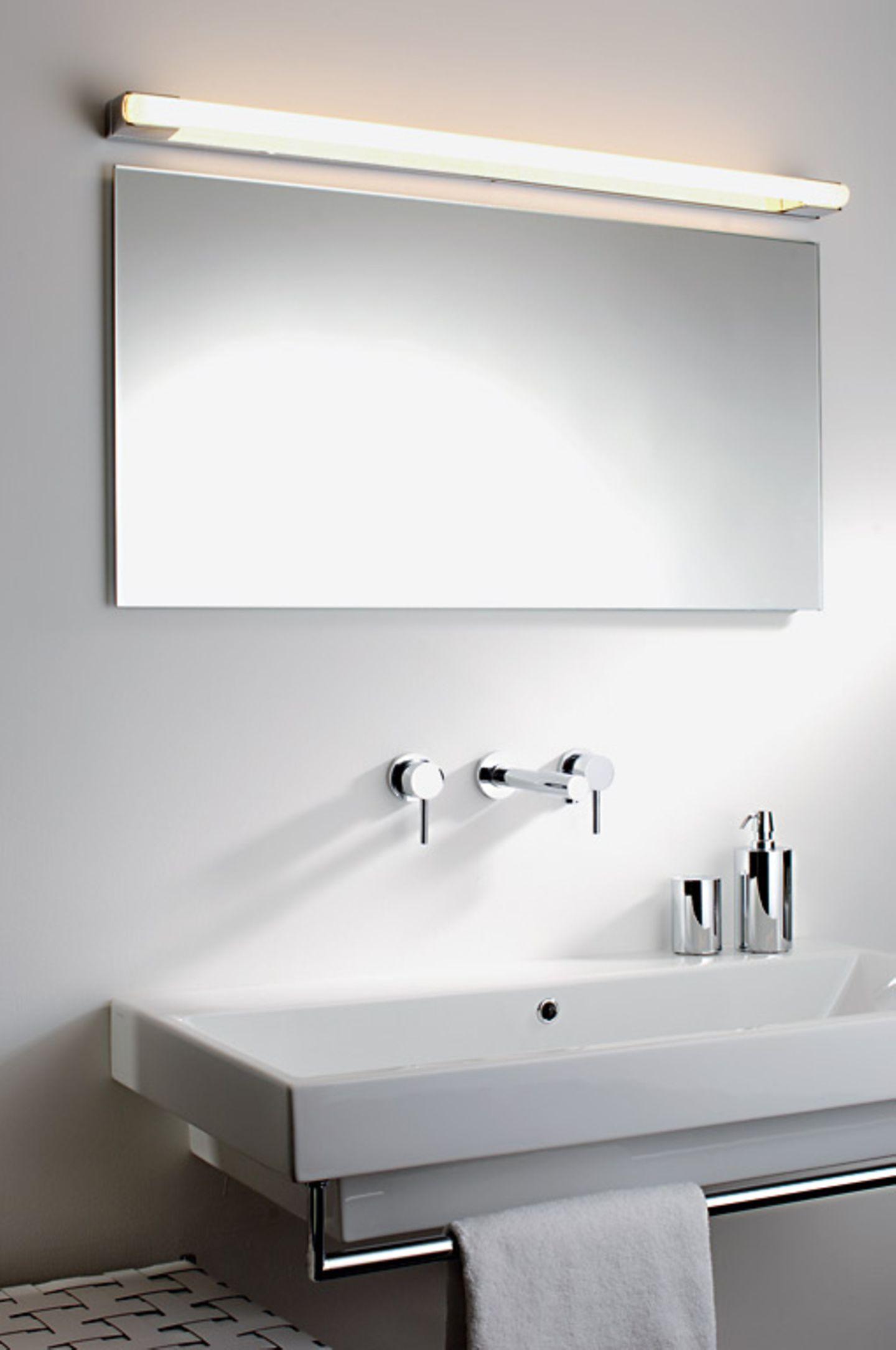 Wie Spiegel weniger beschlagen