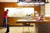 Küche für eine große Familie