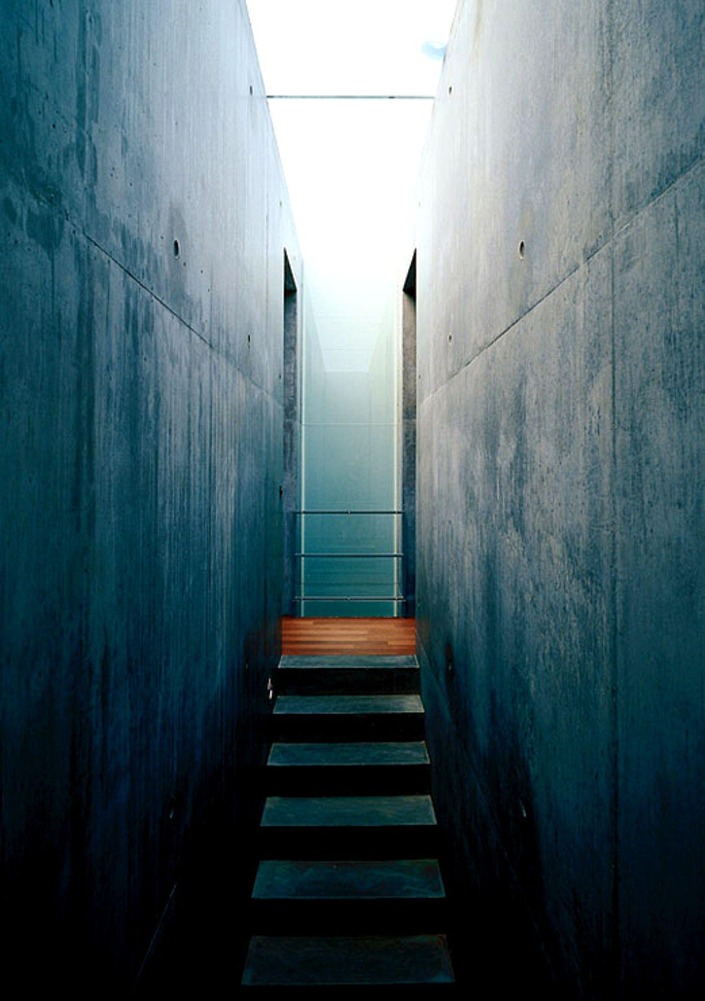 Treppenhaus aus Beton