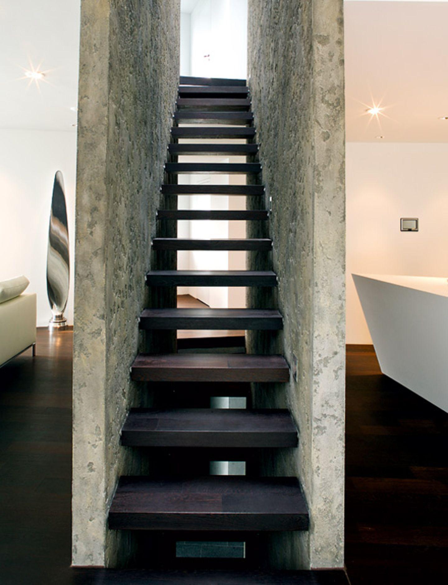 Gerahmte Treppe