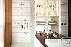 Badezimmer als Raum im Raum
