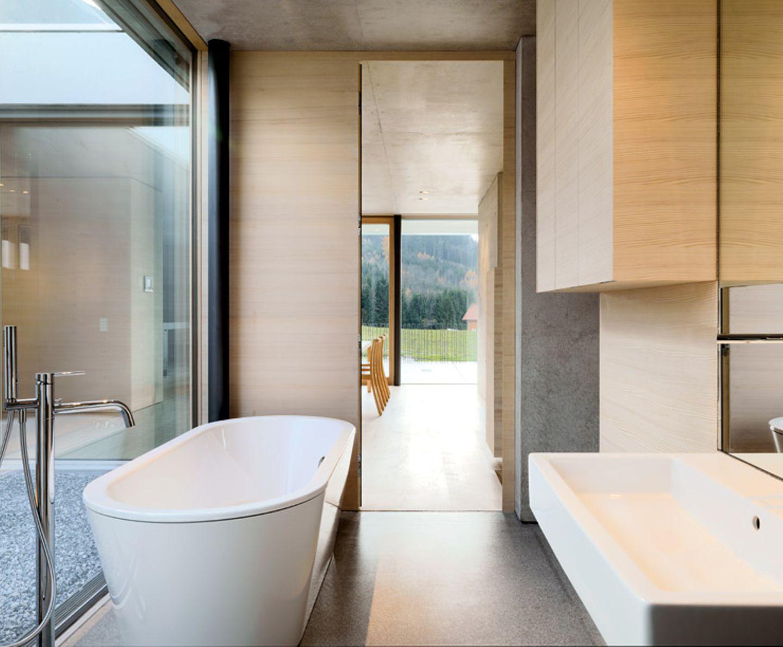 Geschütztes Badezimmer