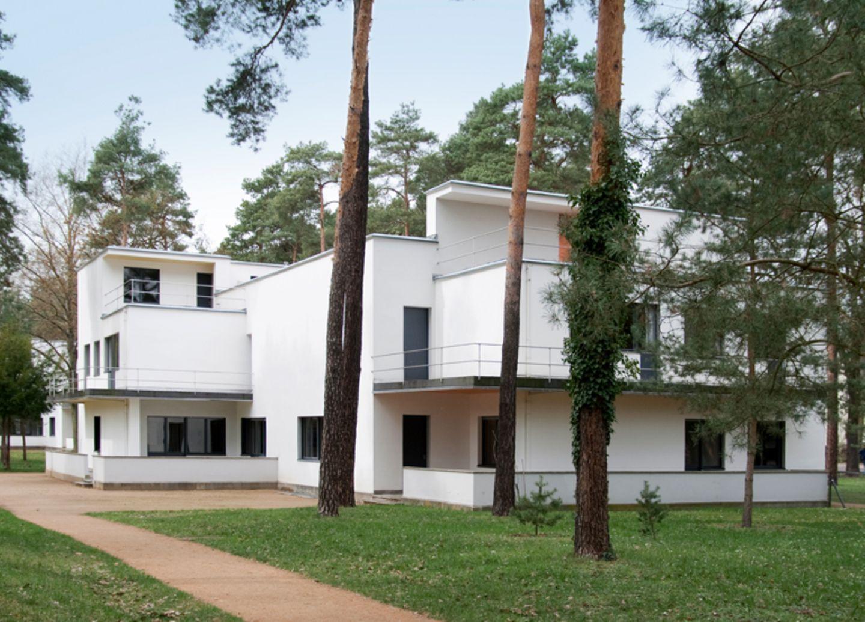Prototypisch: Bauhaus-Meisterhäuser, Dessau
