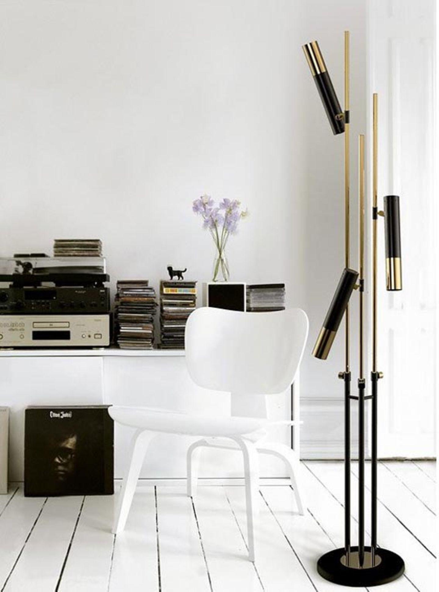 Edel: Gold mit Schwarz und Weiß