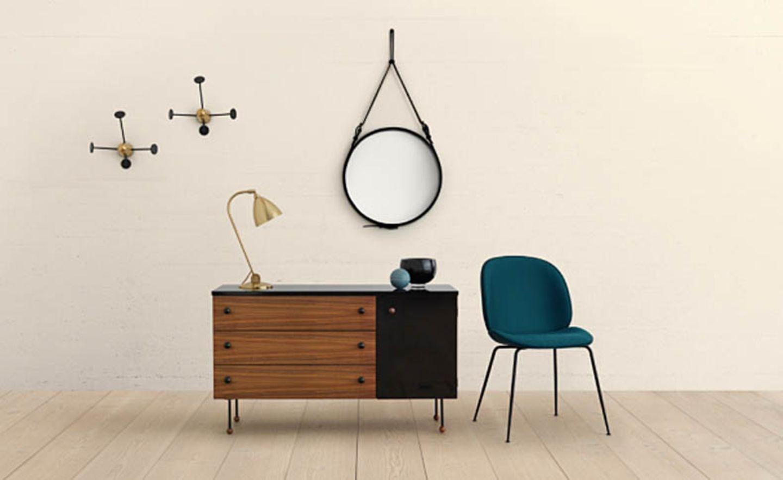 """Zarte Beine: Lounge-Chair """"Beetle"""" von Gubi"""