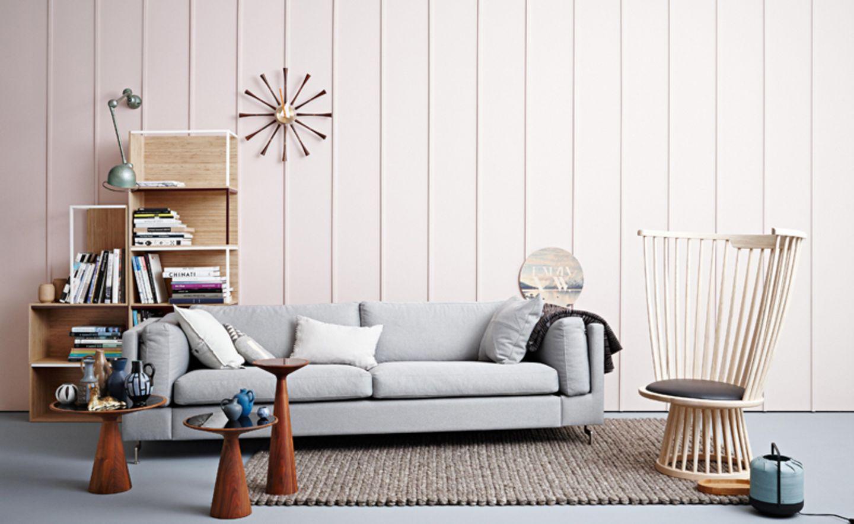 Im Wohnzimmer: Holz mit wohnlichen Texturen