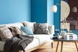 Meerblick inklusive: Blauschattierungen für die Wand