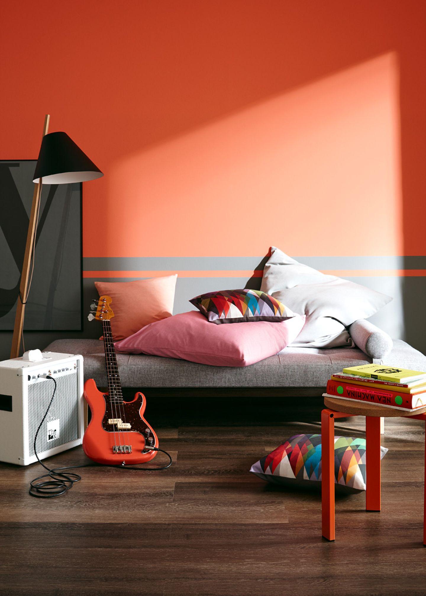 Das Jugendzimmer in Trendfarben streichen