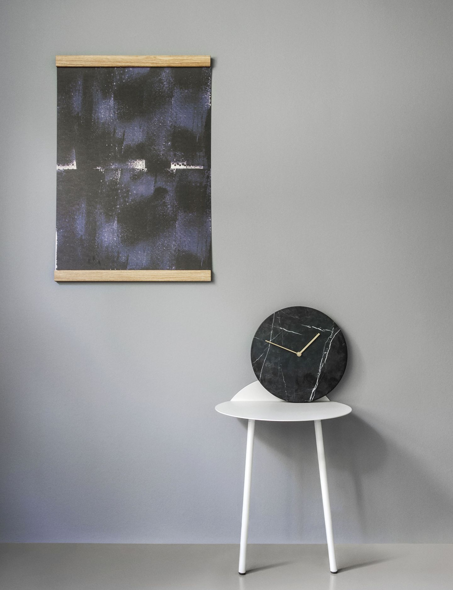 """""""Marble Wall Clock"""" von Menu"""