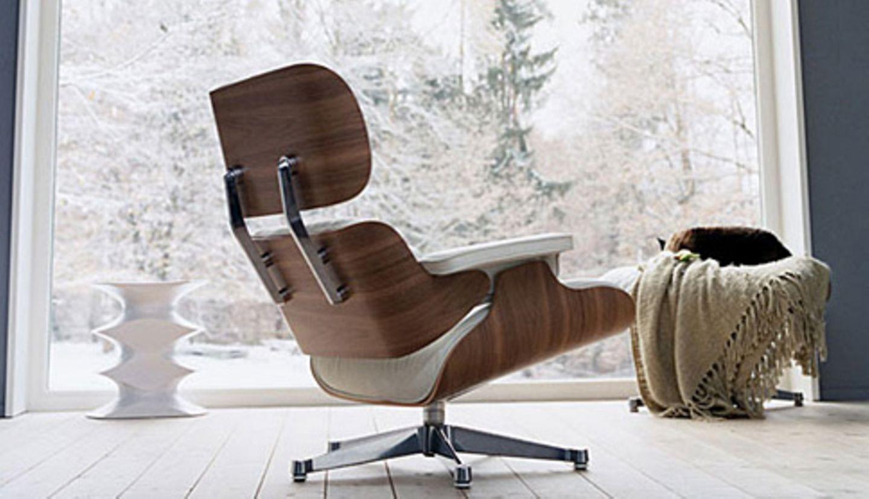 """Der Clubsessel der Eames: """"Lounge Chair"""" von Vitra"""