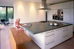 Küche als Mittelpunkt