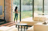 Glasschiebetür zur Terrasse