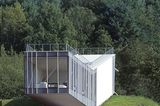 Ein Haus wie eine Aussichtsplattform
