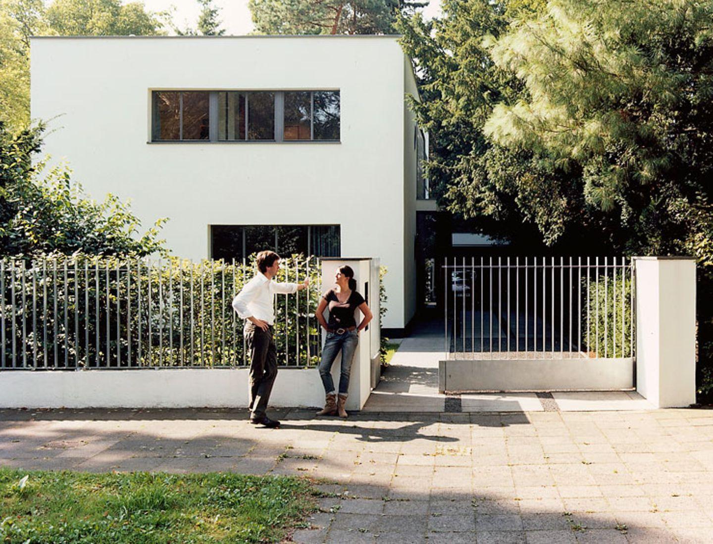 Klares Haus mit Charakter