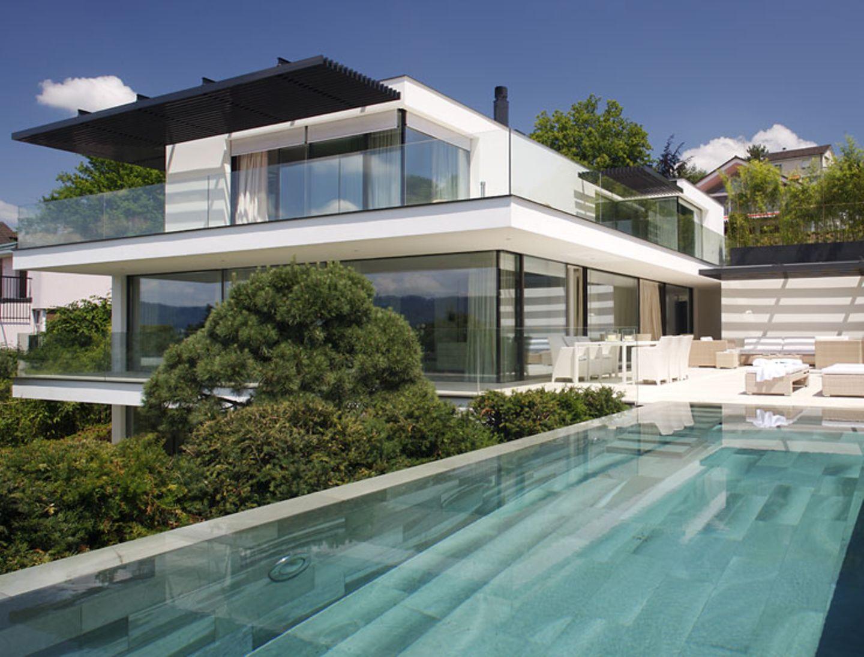 Architektur mit klarer Formsprache