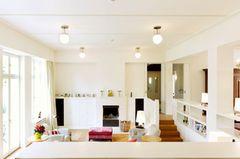 Offenes Konzept im Wohnzimmer