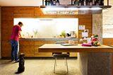 Küche aus natürlichen Materialien