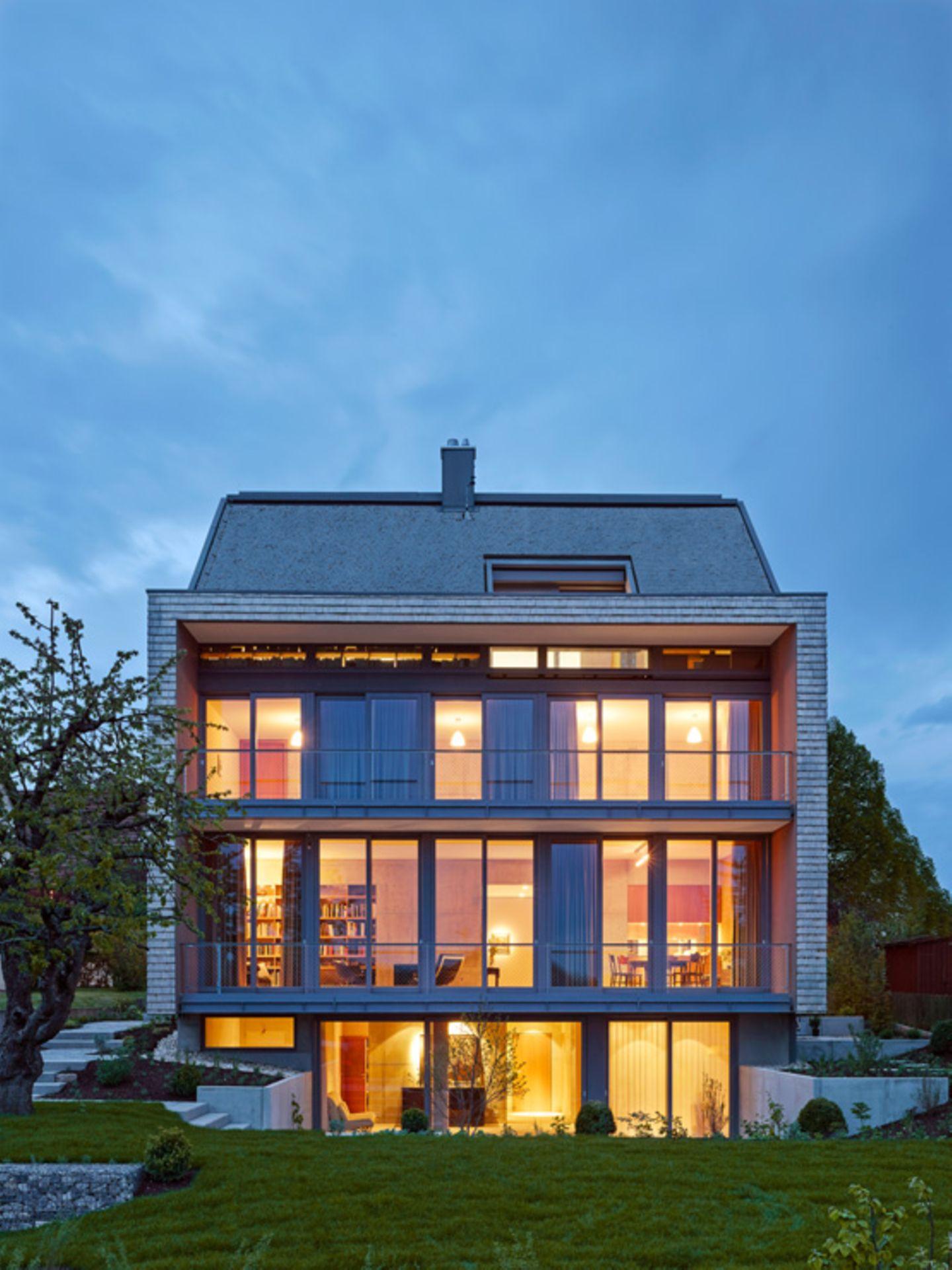 Fensterfront zum Garten