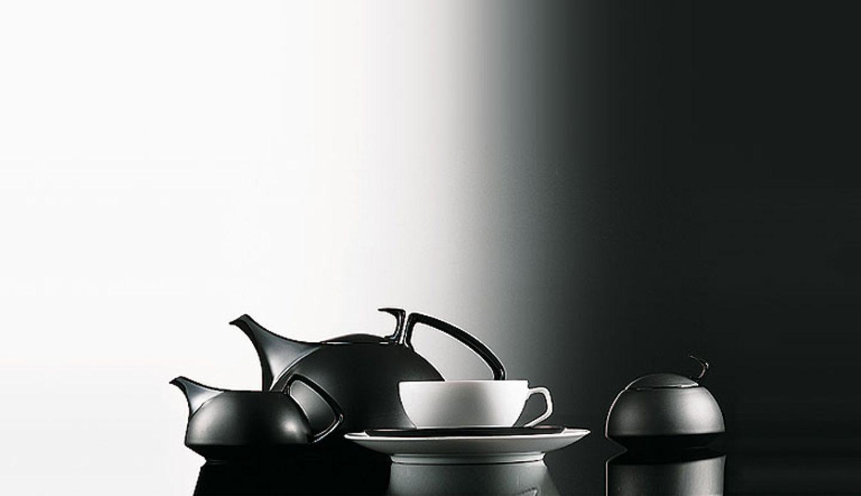 """Teeservice """"Tac 01"""" von Walter Gropius für Rosenthal"""