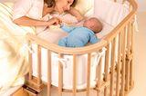 """Gemeinsam schlafen mit """"Babybay"""""""