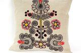 """Folkloristische Blüten: """"Seed Pink Tulip"""" von Charlene Mullen"""