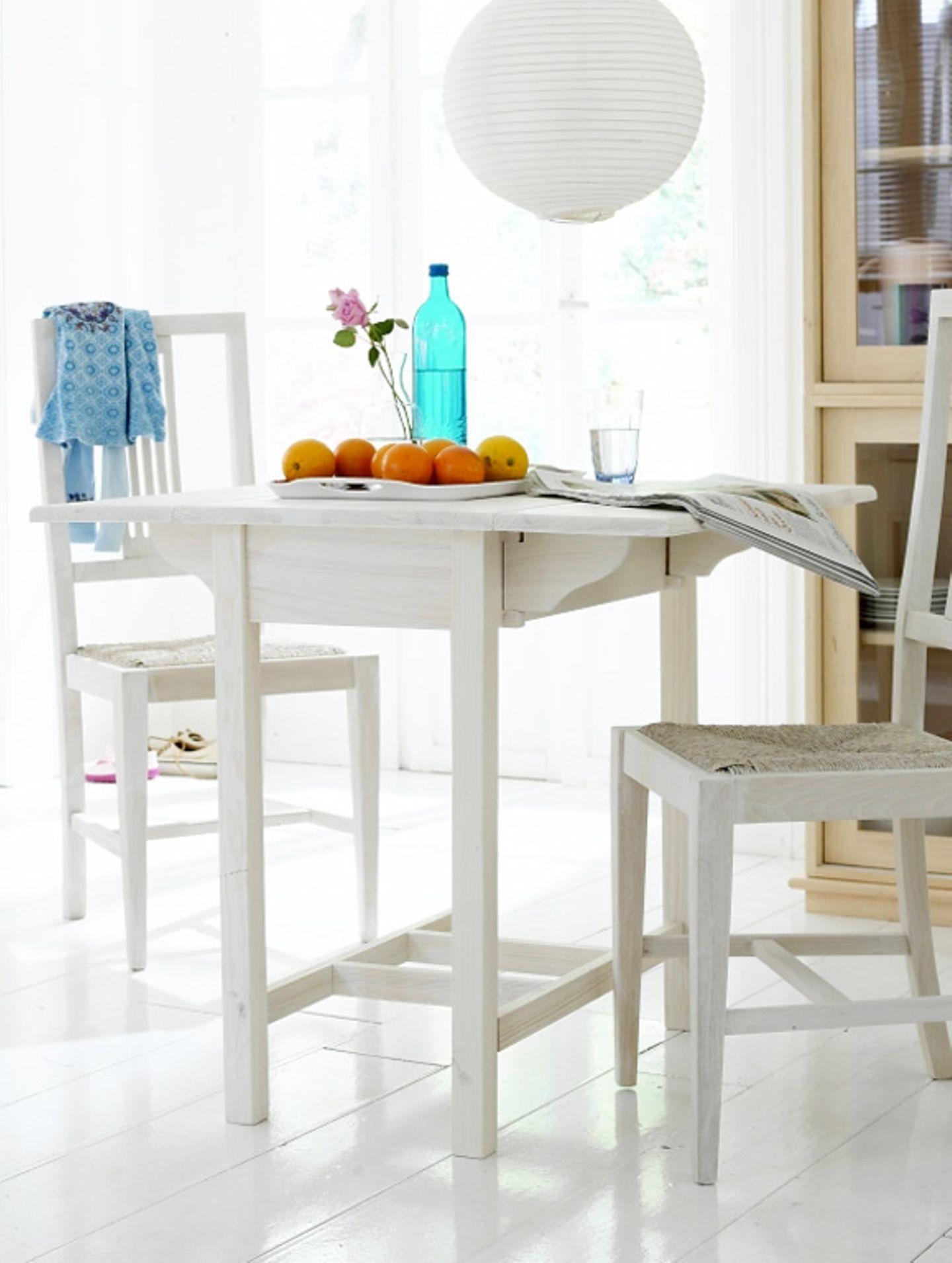 Ein kleiner Essplatz für kleine Räume   Bild 9   [SCHÖNER WOHNEN]