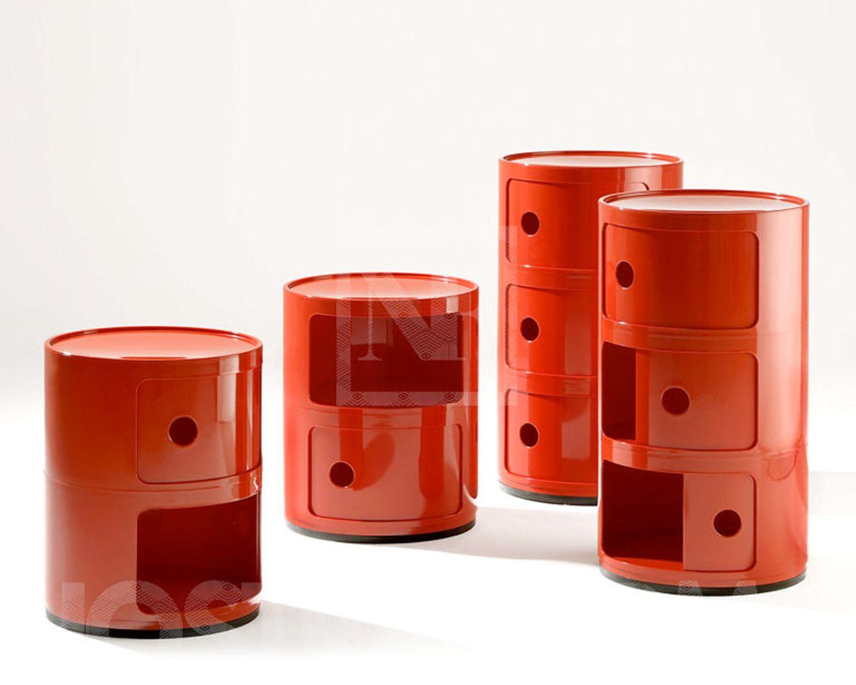 """Retro-Futurismus: Container """"Componibili"""" von Anna Castelli Ferrieri"""