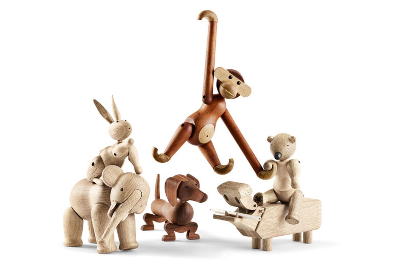Ausdrucksstark: Holztiere von Kay Bojesen