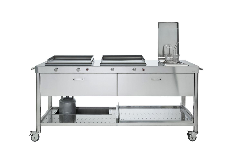 """Outdoor Küche """"190"""" von Alpes Inox - Bild 23"""