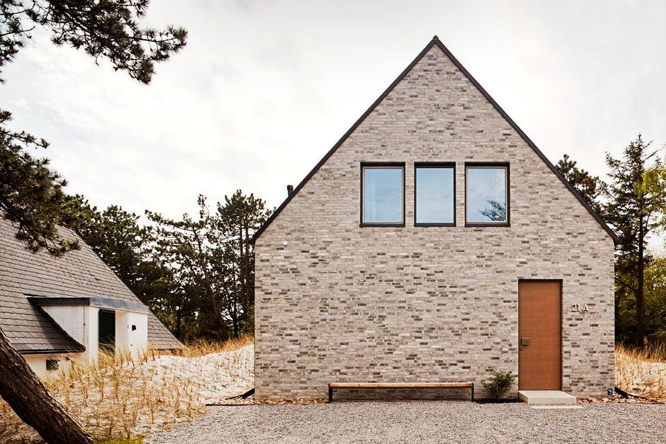 Satteldach; Klinker; Dünenlandschaft; Architektenhaus; St.-Peter-Ording