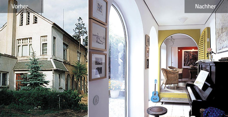 Vorher-Nachher: ein Haus mit 13 Zimmern