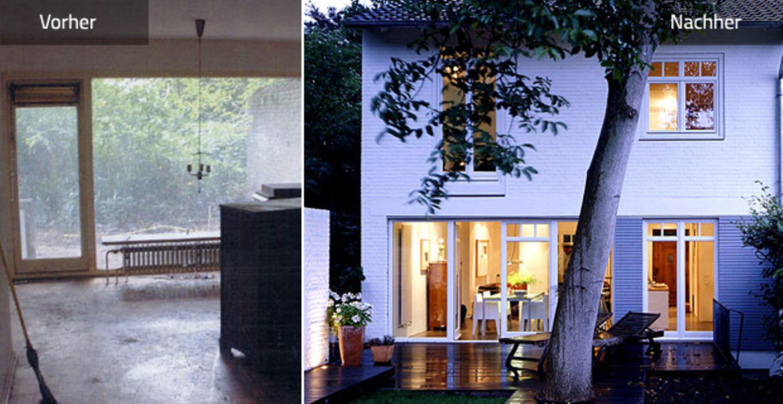 Vorher-Nachher: Rotklinkerhaus wird modern