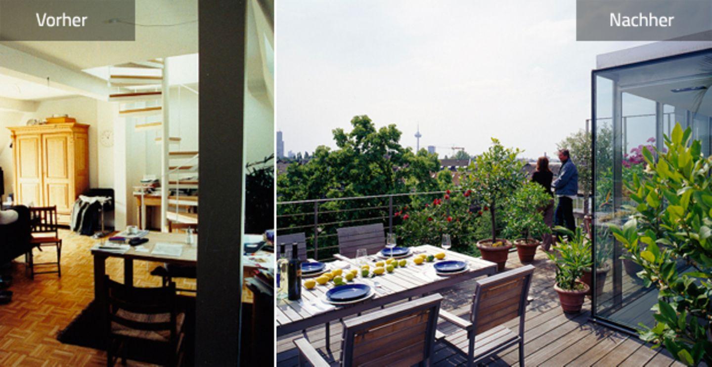 Vorher-Nachher: neues Raumkonzept vergrößert Wohnung