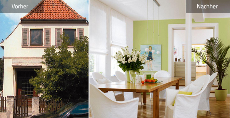 Vorher-Nachher: mehr Platz im Gründerzeithaus