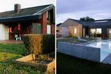 Vorher-Nachher: ein Einfamilienhaus modern umgebaut