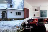 Vorher-Nachher: Villa wird zum Flachdachbau