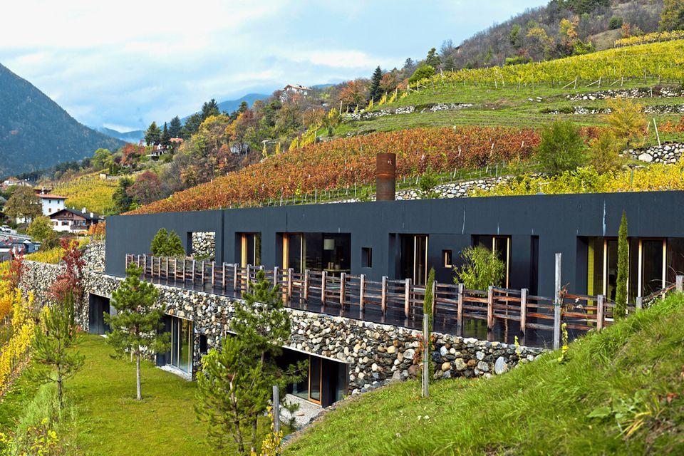 Wohnhaus; Architektenhaus; Bergmeister Wolf; Außenansicht
