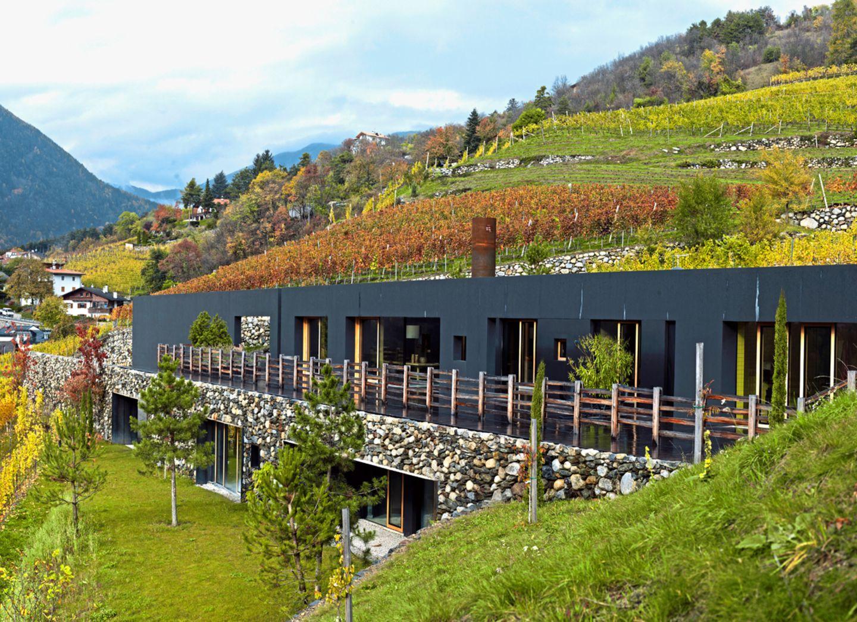 Wohnhaus; Architektenhaus; Südtirol; Bergmeister Wolf; Außenansicht